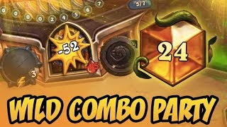 Download Wild Combo Party | Rastakhan's Rumble | Hearthstone Video
