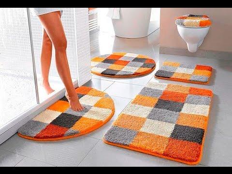 ASMR How to choose a rug for the bathroom