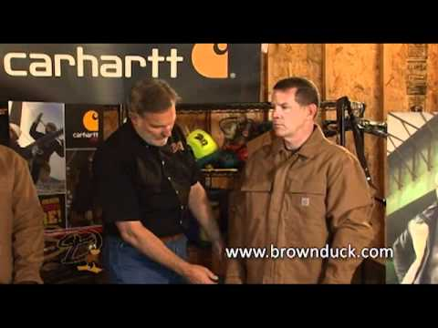 Carhartt Jacket Types,Sizing, and Flame Resistant Care from Brownduck.com