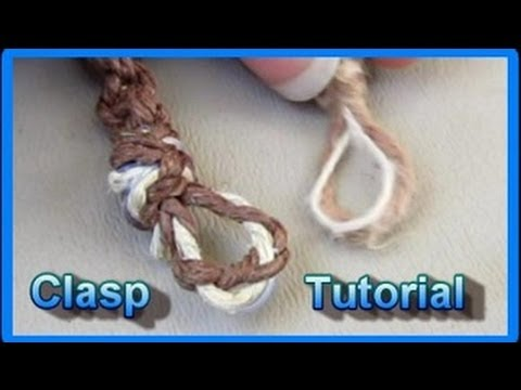 DIY Clasp For A Macrame Necklace