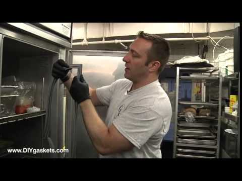How to Replace a Beverage Air Refrigeration Door Gasket 516 Profile