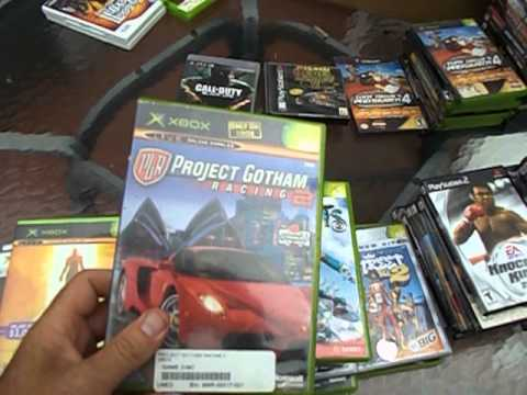 Big Lot of Video Games I bought on Ebay to Resell at Flea Markets. 8/30/13