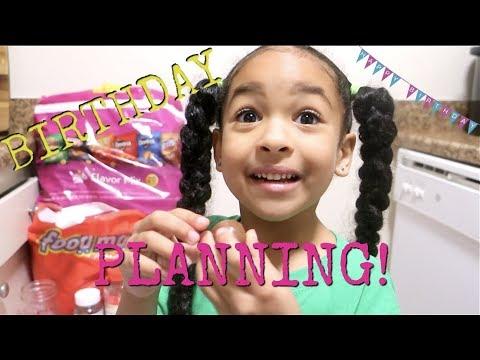 PLANNING FOR MY BIRTHDAY!!!!