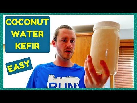 HOW TO MAKE COCONUT WATER KEFIR ~ EASY ~ PROBIOTICS