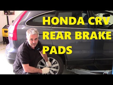Honda CRV How to Change Rear Brake Pads