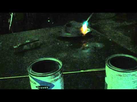 Brazing Cast Iron Bearing Cap