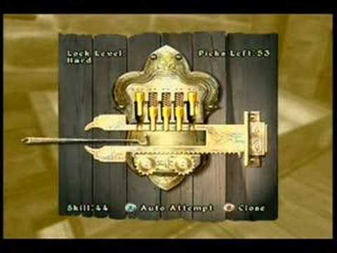 Oblivion - How to Lockpick