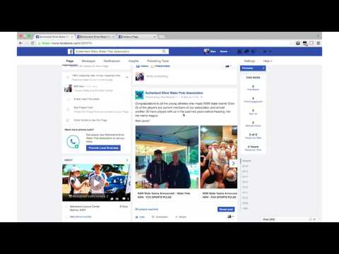 Facebook for your sport (Sports Video Sessions 2/6)