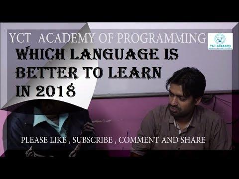 Which Programming Language is better to learn | Pankaj Panjwani with Ram Ratan