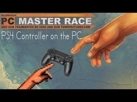 How to use your PS4 Dualshock 4 Controller on your PC
