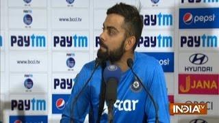 Virat Kohli Addressing Press Conference after Winning Kolkata Test against New Zealand