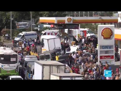 Brazil transport strike continues despite cut in diesel price