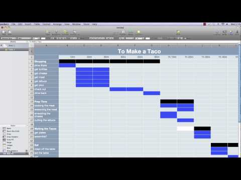 Setting up a basic gantt chart in numbers 09 part1 getp ccuart Gallery