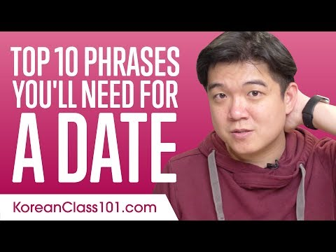 Learn the Top 10 Phrases You'll Need for a Date in Korean