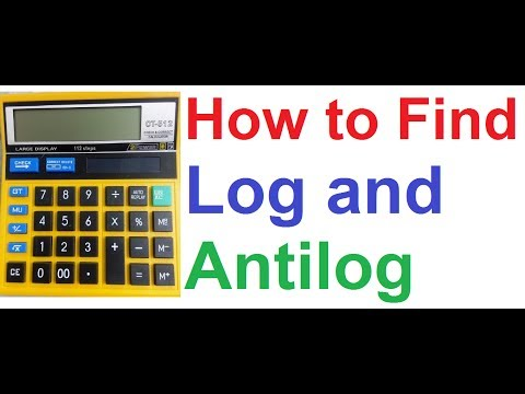 How to Find Log and Antilog using Basic Calculator!! (Logarithm, Antilogarithm without Log Table)