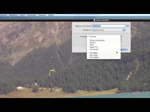 Recensione Mac OS 10.6 Snow Leopard - QuickTime Player X