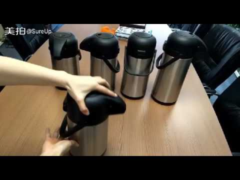 #test#  vacuum flask,thermos pot, airpot ,water pot,from sure up-China factory