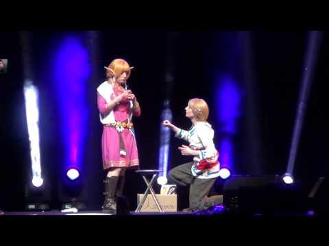Link & Zelda Cosplay HD Skyward Sword Japan Expo 2012