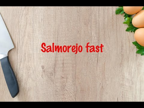 How to cook - Salmorejo fast