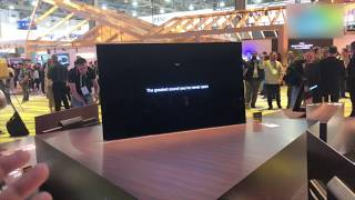 CES 2018: Sony OLED 2018 Lineup First Look | Digit.in