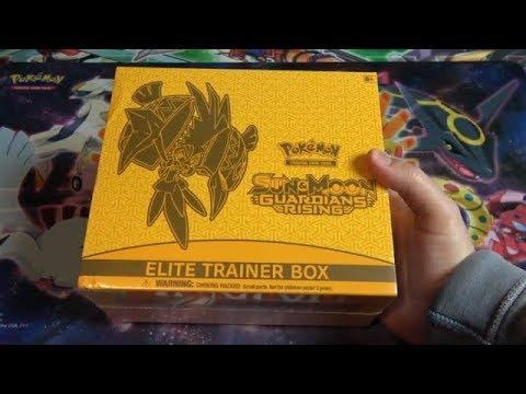 EPIC! Pokemon Sun & Moon Guardians Rising Elite Trainer Box Opening