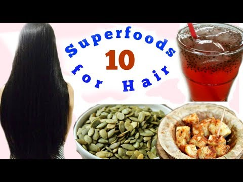 10 Super Foods to Make Your Hair Grow Faster and Thicker by a Skin Doctor | Slick and Natty