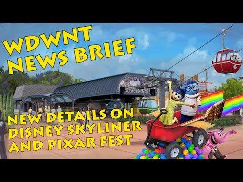 Updates on Disney Skyliner, Caribbean Beach Resort and Pixar Fest - WDWNT News Brief
