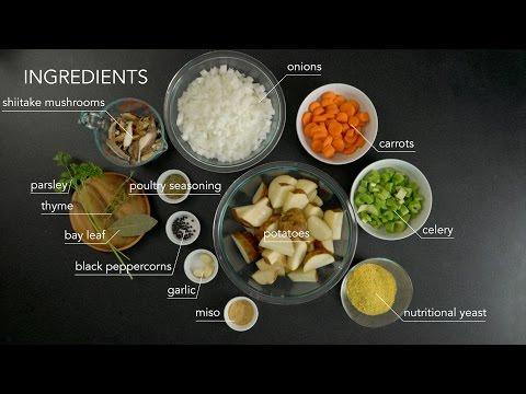 Vegan Chicken Stock in Instant Pot
