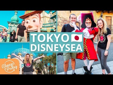 TOKYO DISNEYSEA - DISNEY THEME PARK, ATTRACTIONS & RIDES IN JAPAN  東京ディズニーシー