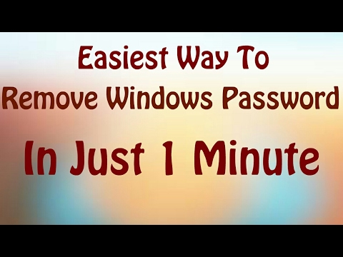 How to Remove password from windows 10,8.1,8 In one minute (in Hindi,english) | Easiest Way