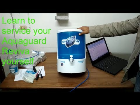 AQUADYNE SELF SERVICE ASSISTANCE VIDEO FOR AQUAGUARD REVIVA RO WATER PURIFIER