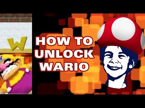 Super Mario 64 DS - How to unlock Wario