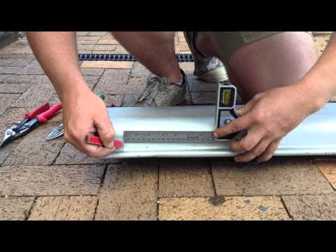 Always Affordable Roofing cutting external corner with Quad 150
