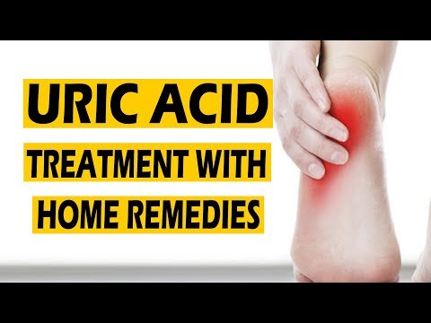Uric Acid & Gout Treatment  || Reduce Naturally