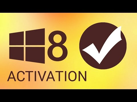 How To Activate Windows 8 after an Installation Or Hardware Upgrade