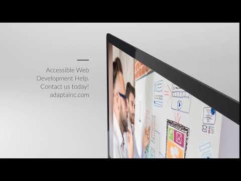 Accessible Web Development & Design - Adapta Interactive