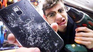HO DISTRUTTO LO SMARTPHONE INDISTRUTTIBILE (crash test estremo)