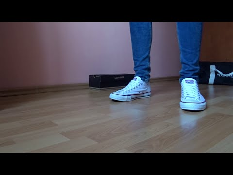 HOW TO WEAR CONVERSE WITH SKINNY JEANS | DETAILED LOOK | HOW TO LACE | ON FEET