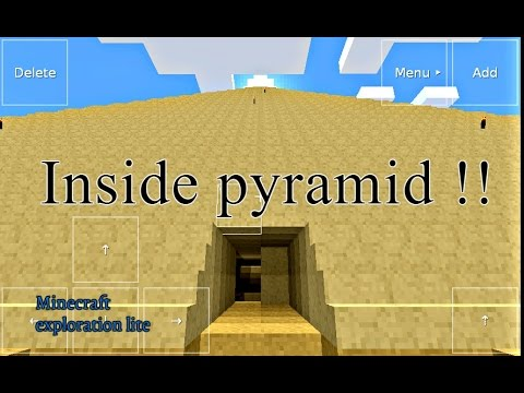 The Secrets Inside The Pyramid - Minecraft