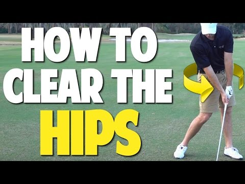 HOW TO CLEAR YOUR HIPS IN THE DOWNSWING