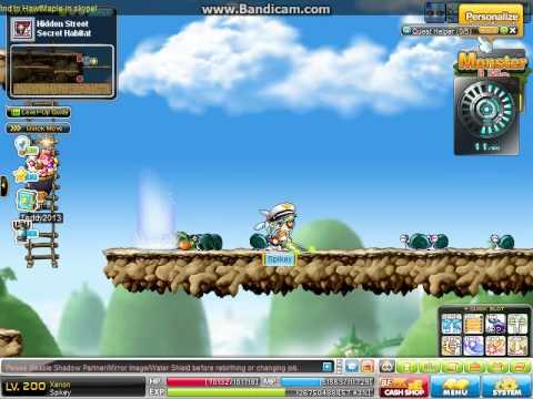 HawtMaple v142.2 ( Gameplay ) | Training |