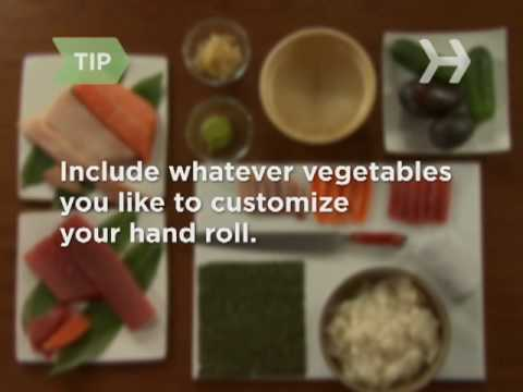 How to Make Hand Roll Sushi
