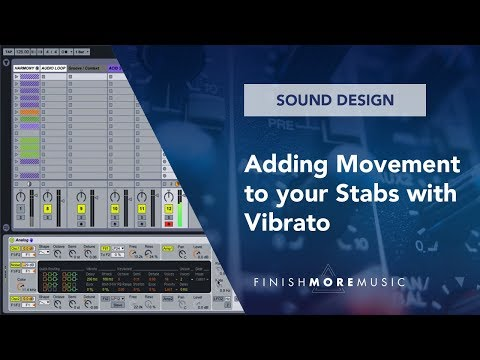 Ableton Synth Stab Tutorial - Adding Movement