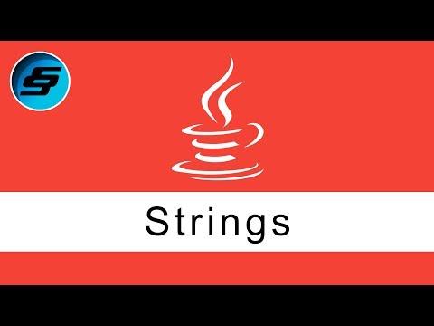 Strings - Java Programming