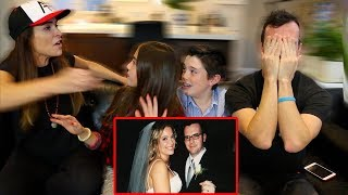 I LOST OUR WEDDING VIDEO!! (EMOTIONAL REACTION)