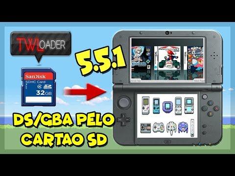[3DS] TWLoader v5.5.1 - Rodar Jogos de NDS(i) e GBA pelo cartão SD #2