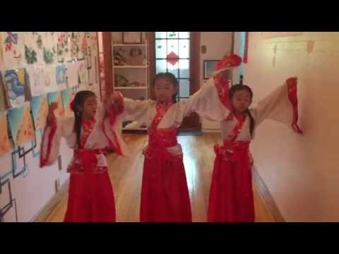 Sesame School's Dance Class - Chinese traditional dance from Han Dynasty