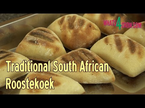 Traditional South African Roostekoek - Best Barbecue Buns Recipe - Bread Rolls on the Barbecue!!!