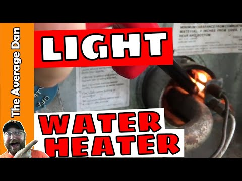 How To Light Camper Water Heater