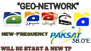 Geo Network Again Change frequency TP From Paksat1r - PakVim net HD
